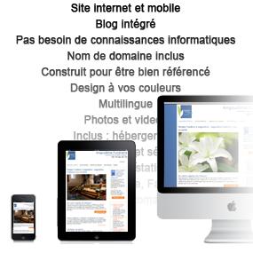création de site internet et de blog